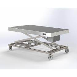 Chariot table élévatrice électrique