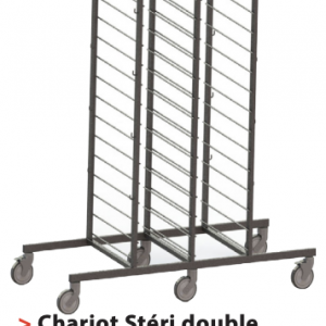 Chariot STÉRICADDIE Spécial Containers